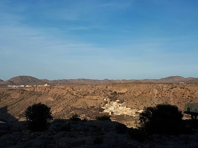 looking across the valley in Jebel Akhdar.