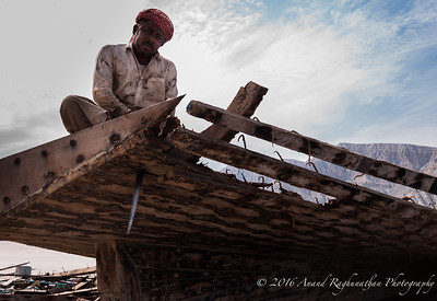 Dhow salvager