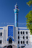 A mosque in the city of Muscat, Oman.