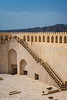 The Nizwa Fort in Nizwa, Sultanate of Oman.