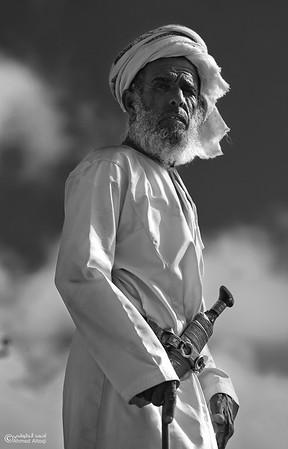 Omani face (58)- B&W