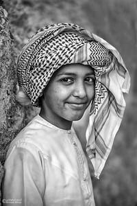 Portrait - Oman (1)- B&W
