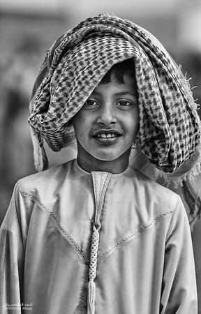 Portrait - Oman (2)- B&W