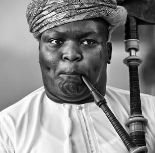 Portrait - Oman (3)- B&W