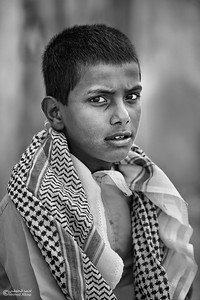 Portrait - Oman (5)- B&W