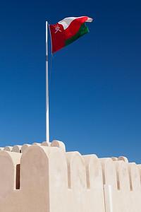 Flaga Omanu