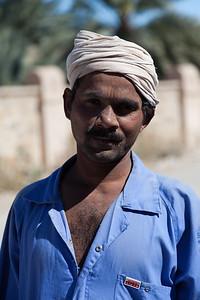Jeden z robotników