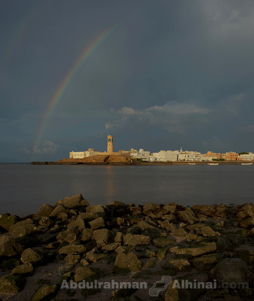 Rainbow Over Al Aijah