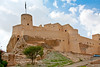 Nakhal Fort is one of best preserved of the many forts around Oman, set in the striking red rock of the Jebel Akhdar Mountains and overlooking an oasis of date palms.
