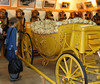 Yellow Hermes parade carriage