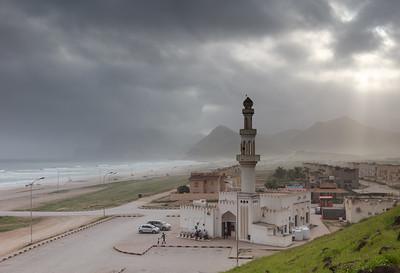 Sultanate of Oman - Dhofar Province - Salalah Area - صلالة - Ṣalālah - Al-Mughsayl Beach - Al Maghseel - Mughsail - Maghsail - Scenic coastal location along