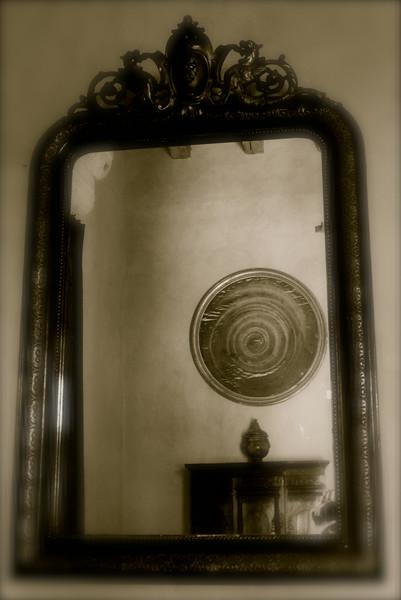 Miroir, château du Rivau
