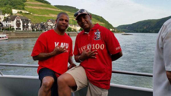 Omega PSI Phi Boat Ride 2014