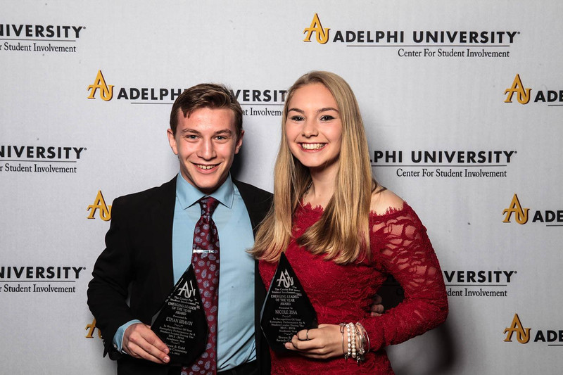 Ethan Bravin and Nicole Zisa - Emerging Leader Award