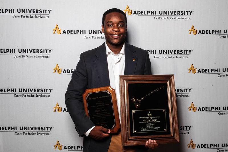 Malik Clarke - President's Student Leadership Award