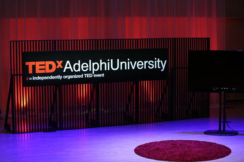 TEDxAdelphiUniversity Stage