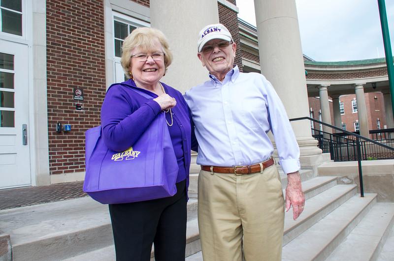 UAlbany alumni: Pat and Hank Binzer