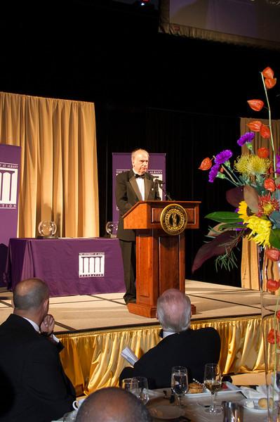 The University at Albany Foundation honors Community Laureate James J. Barba and Academic Laureate Stephen M. Berk, Ph.D at the 2013 Citizen Laureate Awards.  Photographer: Mark Schmidt