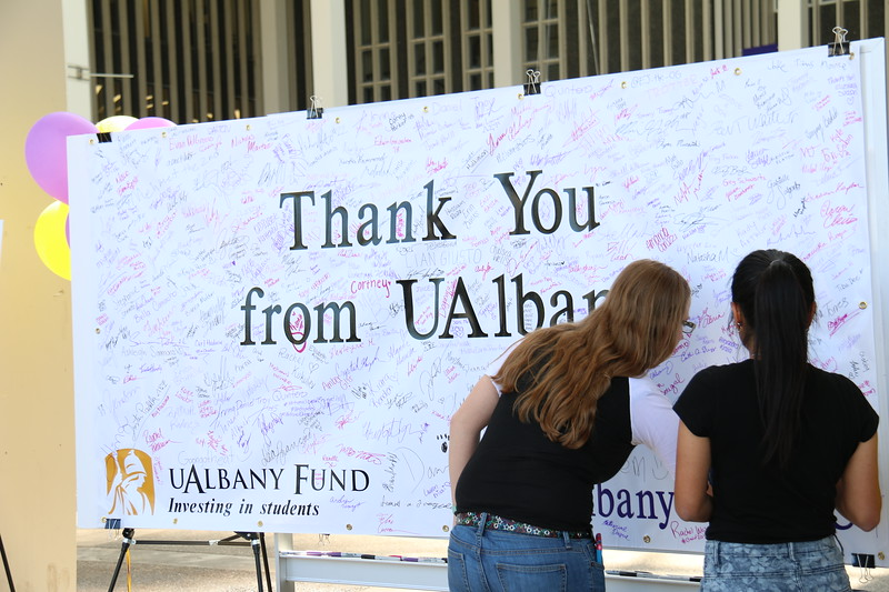 Thank A Donor event