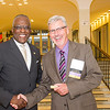 2014 University at Albany Foundation Board Donor Reception held in the Lecture Center Hallway.
