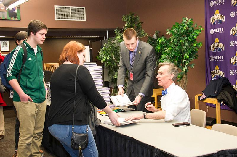 "SA Speaker Series: Bill Nye SA Speaker Series presents Bill Nye ""The Science Guy"""