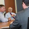 Congressman Chris Gibson visits RNA Institute