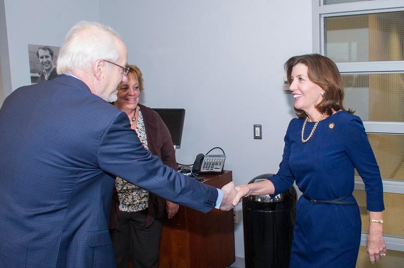 2017 Lieutenant Governor Hochul Visit