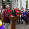 UAlbany's Office of Environmental Sustainability hosts the 2014 Campus Crunch near Campus Center Fountain.  Photographer: Bill Pyke