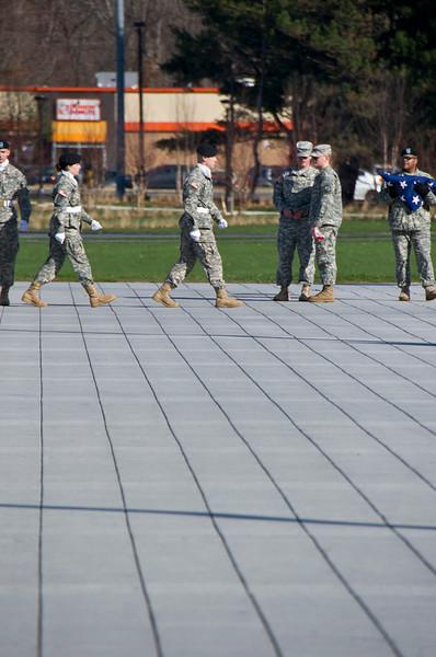 2012 Veterans Day Flag-Raising Ceremony