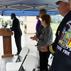 Fire safety demonstration at UAlbany