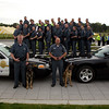 Members of the 2013 University Police Department. Photographer: Paul Miller