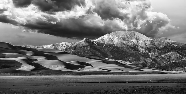 Gathering Storm - Great Sand Dunes National Park, Colorado