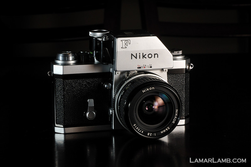 Nikon F Photomic FTn with 24mm f/2.8 AI