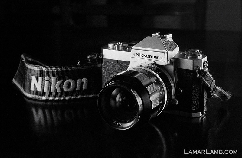 Nikkormat FT2 with 35mm f/1.4 Nikkor-N Auto: Taken with Nikon FM; Lens - Nikkor 50mm f/1.8 AIs; Film - Ilford HP5 Plus developed in Kodak XTOL.