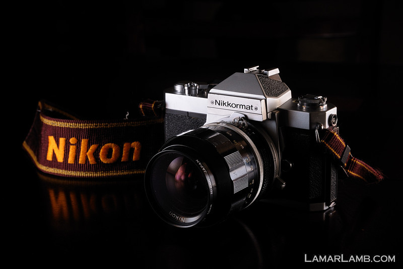 Nikkormat FT2 with 35mm f/1.4 Nikkor-N Auto