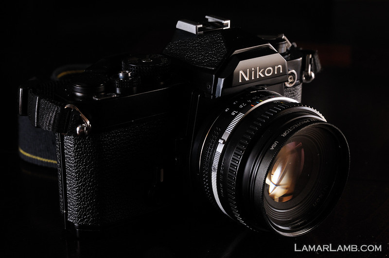 Nikon FM with Nikkor 50mm f/1.8 AIS