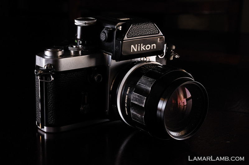 Nikon F2 with DP-1 Finder and 35mm f/1.4 Nikkor-N Auto