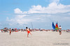 Midday on St. Simons Island Beach, 4th of July Weekend, 2013. Camera - Nikon Nikkormat FT2; Lens - Nikkor 35-200mm f/3.5-4.5 AIs; Film - Kodak Ektar 100  scanned with Nikon Coolscan V ED using VueScan 9 software.