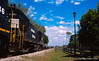 """Georgia Central freight coming into Lyons, Georgia in April 2012. Technical info: <a href=""""http://www.nathangriffin.com/technical/camera/nikonfe2/"""" target=""""_blank"""">Nikon FE2</a> / Nikkor AIs / Fuji Velvia 50; Developed in Kodak E6 Chemicals."""