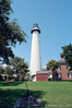 St. Simons Island Lighthouse, Georgia. Camera: Nikon  F Photomic FTn; Lens: Nikkor 24mm f/2.8 AIs; Film: Kodak Ektar 100