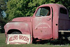 Studebaker truck at Miller's Grocery, Christiana Tennessee. Camera: Nikon  F Photomic FTn; Lens: Nikkor 50-135mm f/3.5 AIs; Film: Kodak Ektar 100