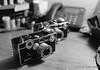 Camera - Nikon FM; Lens - 35mm f/1.4 Nikkor-N Auto; Film - Ilford Delta 400 shot at ISO 1600 and pushed 2 stops in Kodak XTOL.