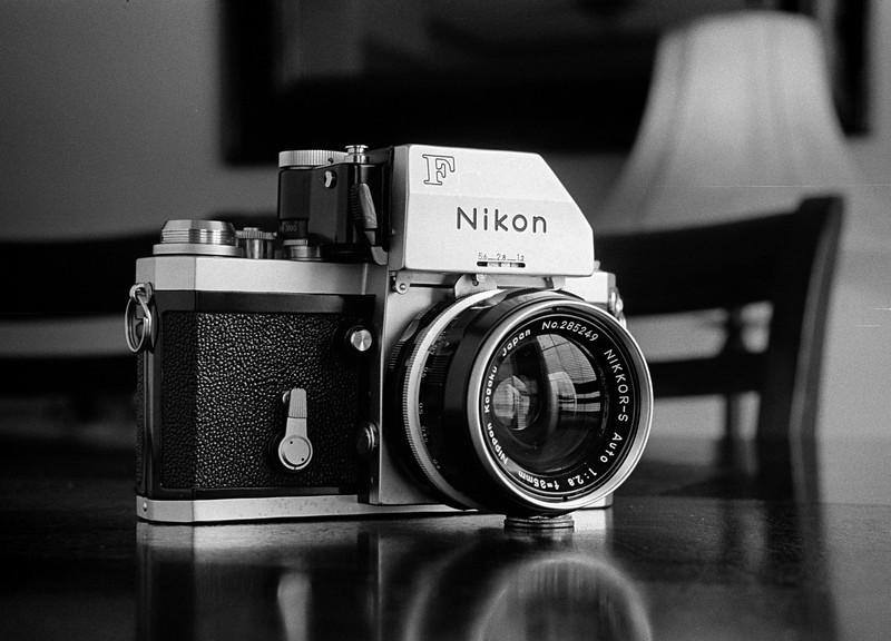 Nikon F Photomic FTn on Tri-X - Taken with Leica IIIb / Summitar / Auto-Up