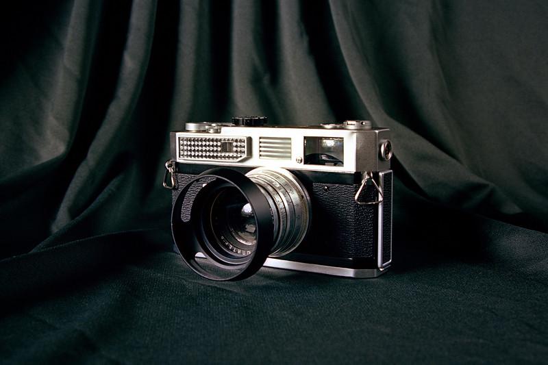 Canon 7 on Kodak Ektar 100 - Nikkormat FT2