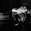 Nikkormat FT2 on Ilford HP5 Taken with Nikon FM.