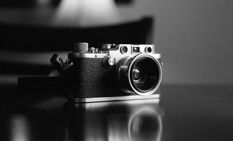 Leica IIIc on Tri-x - Taken with Zorki-4
