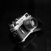 Zorki-4 on Kodak T-Max 100 taken with Konica AutoReflex T2