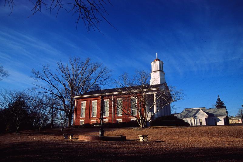Velvia 50 - Nikon F4 - Church in Talbotton, Georgia