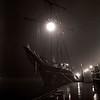 Kodak Tri-X 400 - Tall Ship at Night, Savannah Georgia