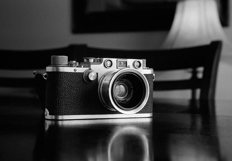 Leica IIIc on Tri-X - Taken with Leica IIIb / Summitar / Auto-Up